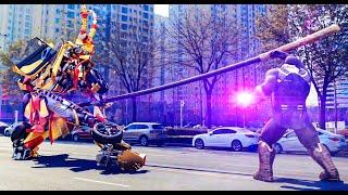 Thanos VS.Transformer WuKong!齐天大圣孙悟空大战灭霸!
