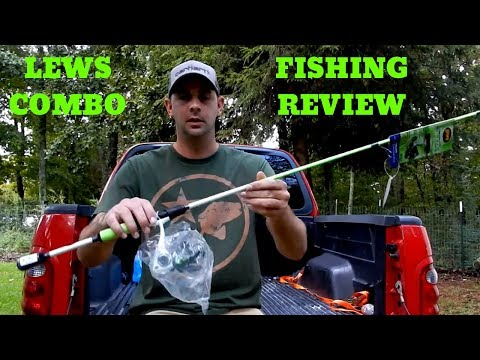 $60 LEWS XFINITY  ROD + REEL COMBO from WALMART review and fishing