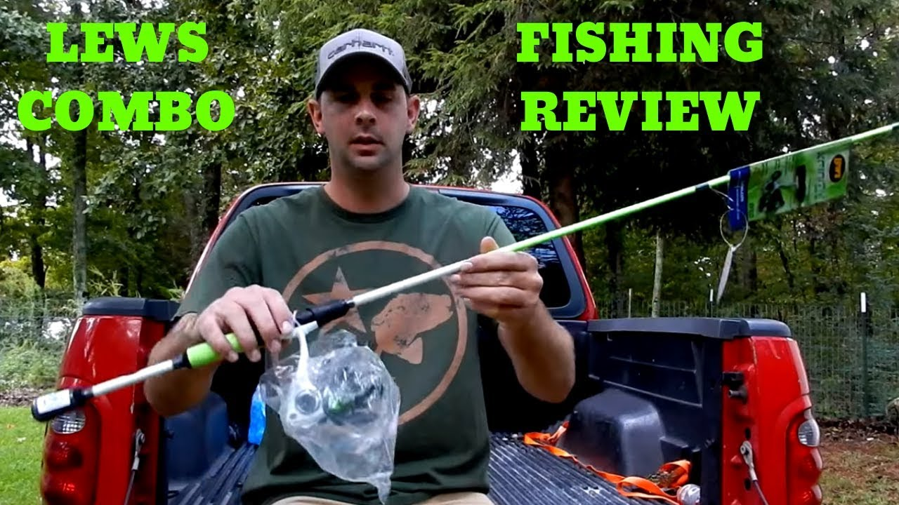 60 Lews Xfinity Rod Reel Combo From Walmart Review And Fishing Youtube