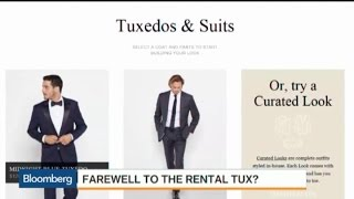 Why Tuxedo Rentals Are Tanking
