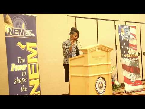 The Tech Queen presents at NEMA (National Energy Marketers Association) 2017