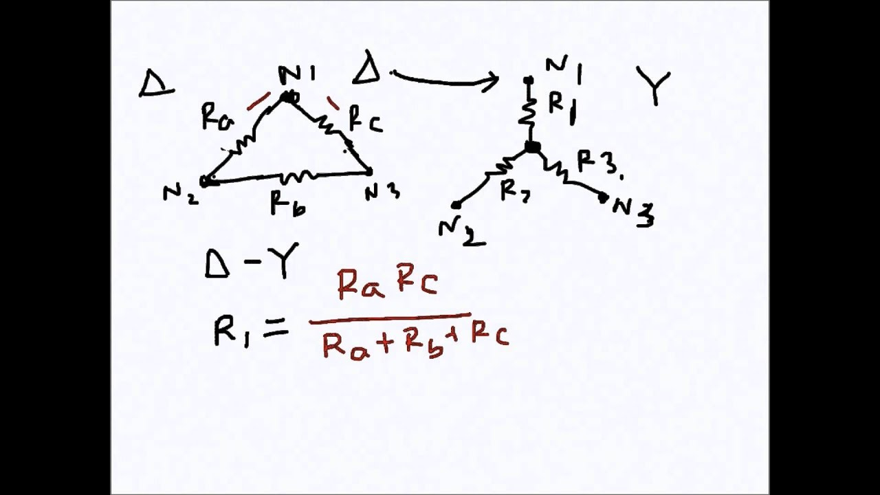 wye delta transformations A simple derivation of both the wye-delta and delta-wye transformations is presented this derivation stresses the concept of duality, illustrates the formulation and solution of node and loop matrix equations, and explains the role played by the wye-delta and delta-wye transformations in simplifying circuits.