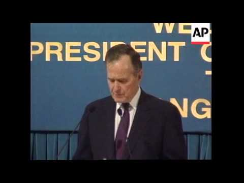HONG KONG: GEORGE BUSH SPEECH ON CHINA