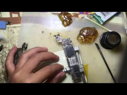 fix  sound problem call iphone 5 by hardware