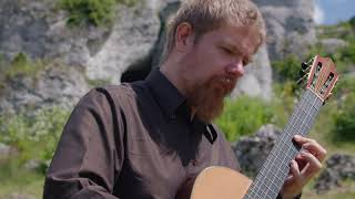 J. Brahms - Dein blaues Auge for cello and guitar / Duo Vitare