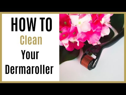 How To Clean a Derma Roller After Use