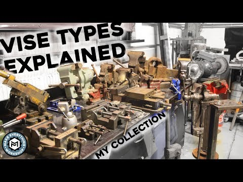 Vise Types Explained! My Collection