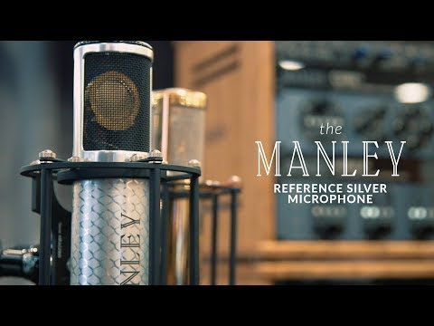 The Manley Reference Silver Microphone