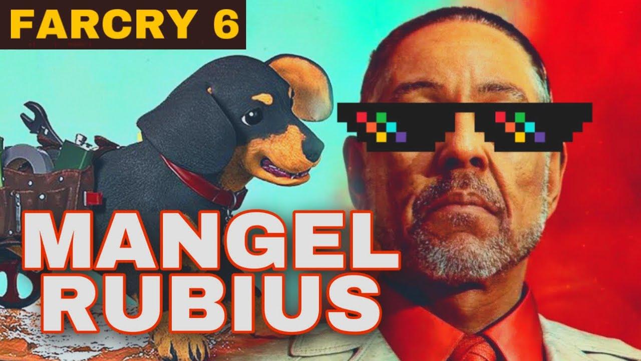 MANGEL Y RUBIUS EN FARCRY 6