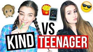 KIND VS. TEENAGER ◇ 5 x FRÜHER und HEUTE! // mit Nathalie Céline & I'mJette