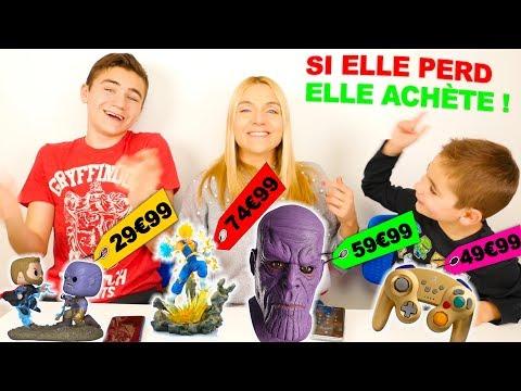 MAMAN DEVINE LE PRIX SINON ELLE ACHÈTE !!!