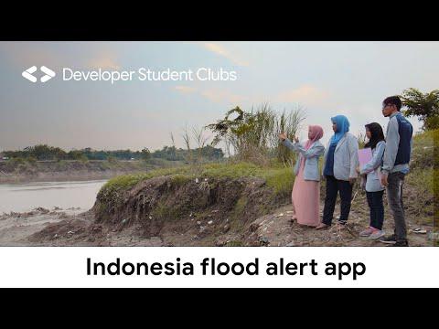 Developer Student Club in Indonesia creates flood alert app