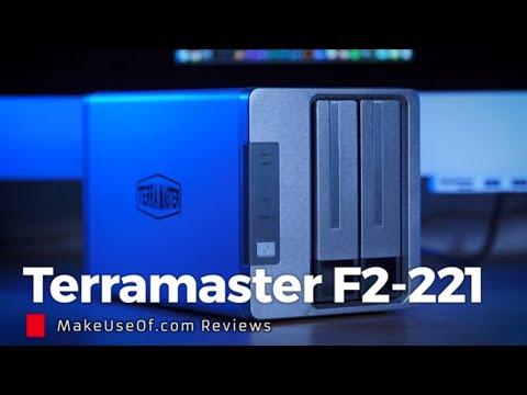 TerraMaster F2-221 Budget NAS: It Even Runs Plex