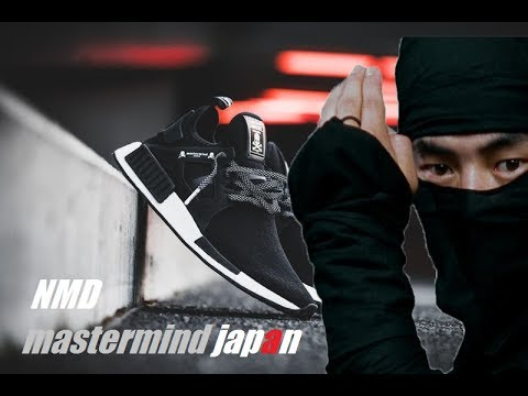 2d0d7ed257abf The NINJA shoes !! NMD XR1 x Mastermind Japan - YouTube