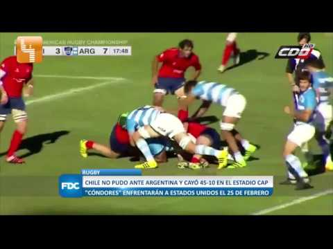 Pulso Deportes: Americas Rugby Championship 2017, Chile-Argentina