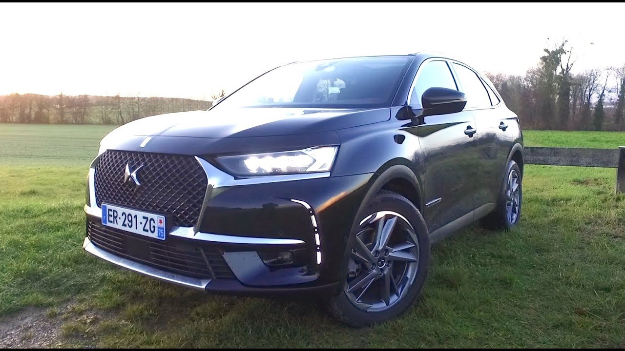 ds 7 crossback la premiere vraie voiture de luxe fran aise youtube. Black Bedroom Furniture Sets. Home Design Ideas