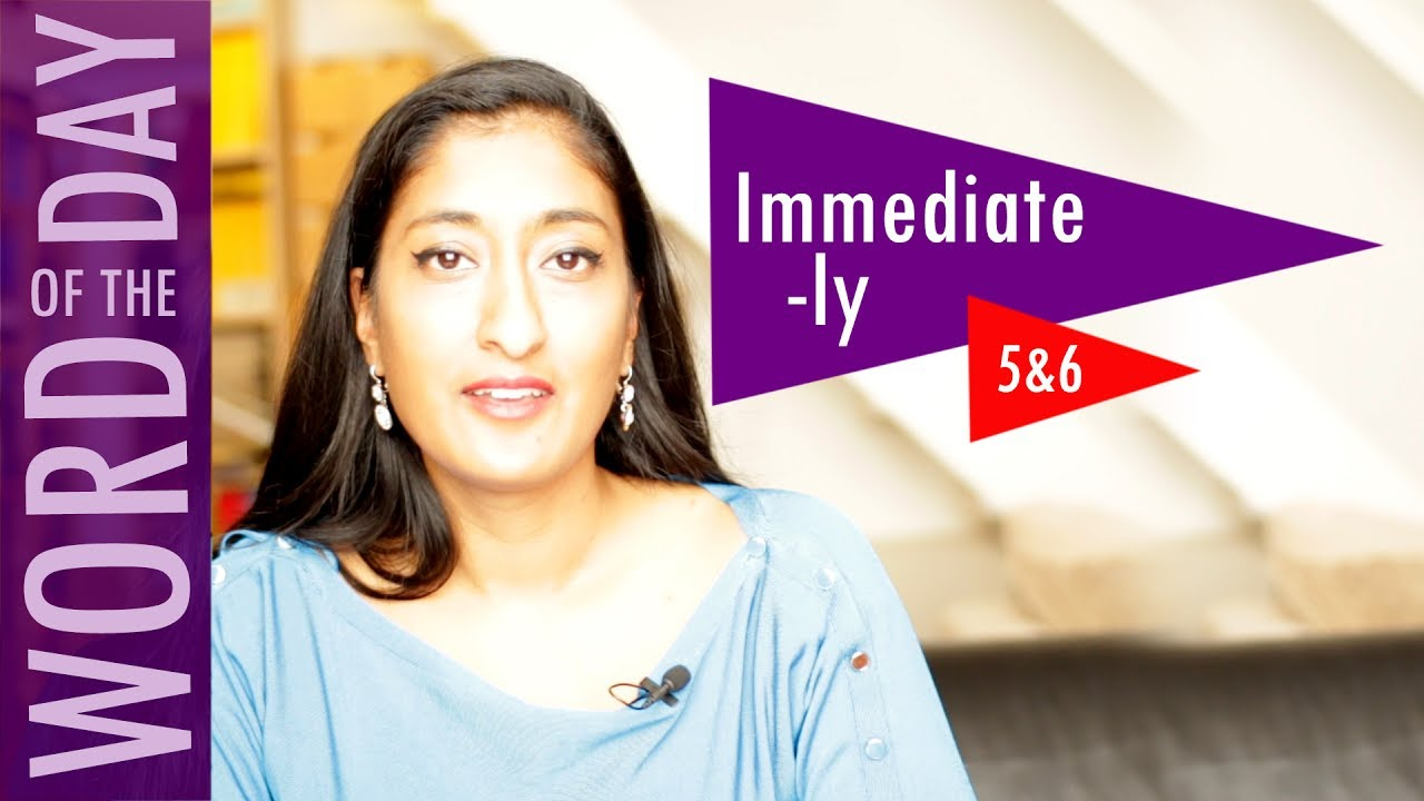 How to Spell the Word Immediate immediately ǀ Word of the Day (Yr 5&6) ǀǀ  Early Morning Work
