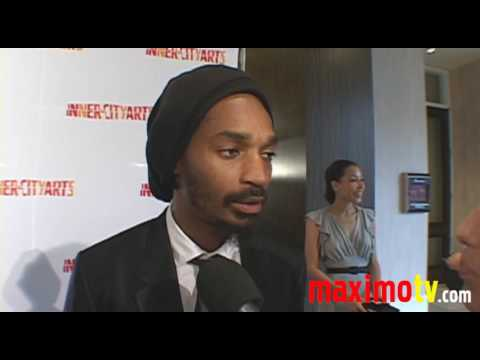 EDDIE STEEPLES at 2009 InnerCity Arts Imagine Gala & Auction
