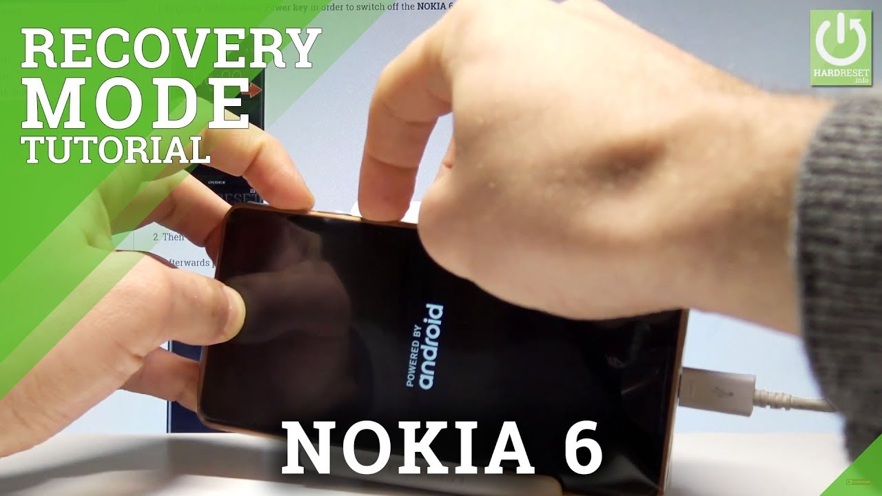 How to Enter Recovery Mode in NOKIA 6 - NOKIA Recovery Mode