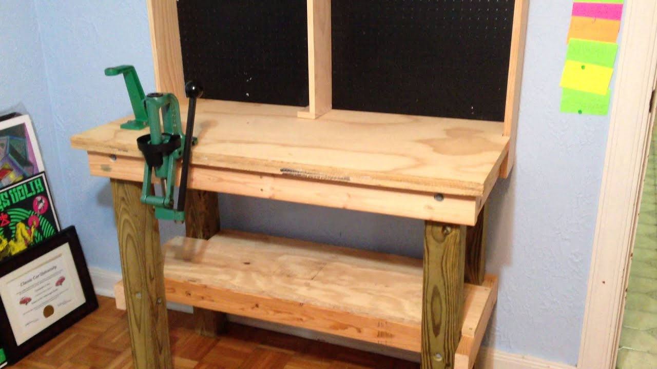 Superior Reloading Bench Ideas Part - 3: Reloading Bench Build Is Complete - YouTube