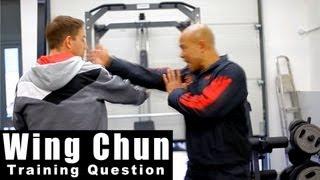 Wing Chun training - wing chun what is gak sao?Q21