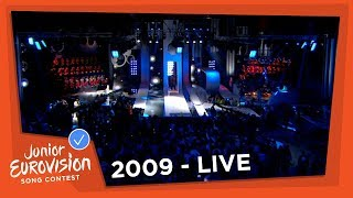 Recap of all the songs of the 2009 Junior Eurovision Song Contest