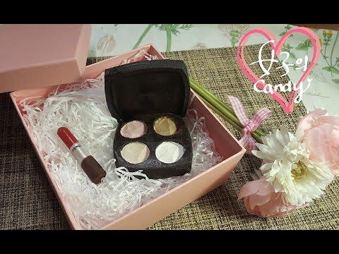 [White Day] Edible Makeup Chocolate (ENG SUB) - YouTube