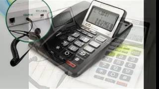 대우 유선전화기 DT-3360 이어폰 겸용 발신자 표시