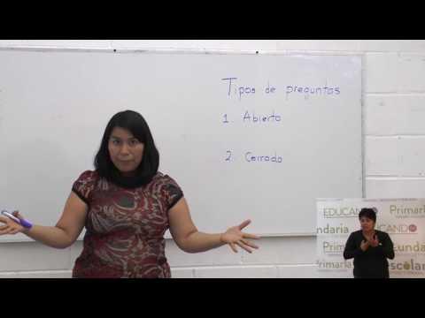Primaria 3º y 4º clase: 110 Tema: La entrevista (Primera sesión)