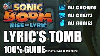 Sonic Boom: Rise of Lyric 100% Guide - Lyric
