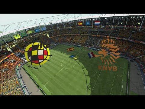 2014 FIFA World Cup Brazil - Spain Vs Netherlands - [HD FULL Gameplay]
