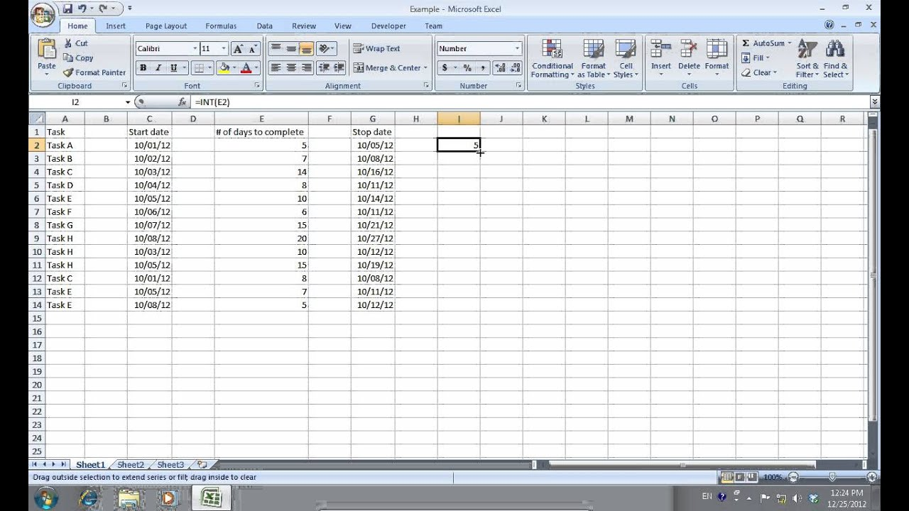 How To Edit Multiple Excel 2007 Cells At Once