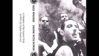 """Beer Whores - """"Drunk With Power"""" (full recording) Michigan Punk & Hardcore"""
