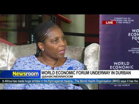 Communications Minister Dlodlo at the WEF on Africa 2017