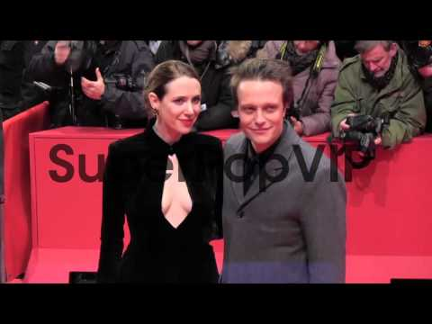 Julia Malik and August Diehl at the premiere of 'Night Tr...