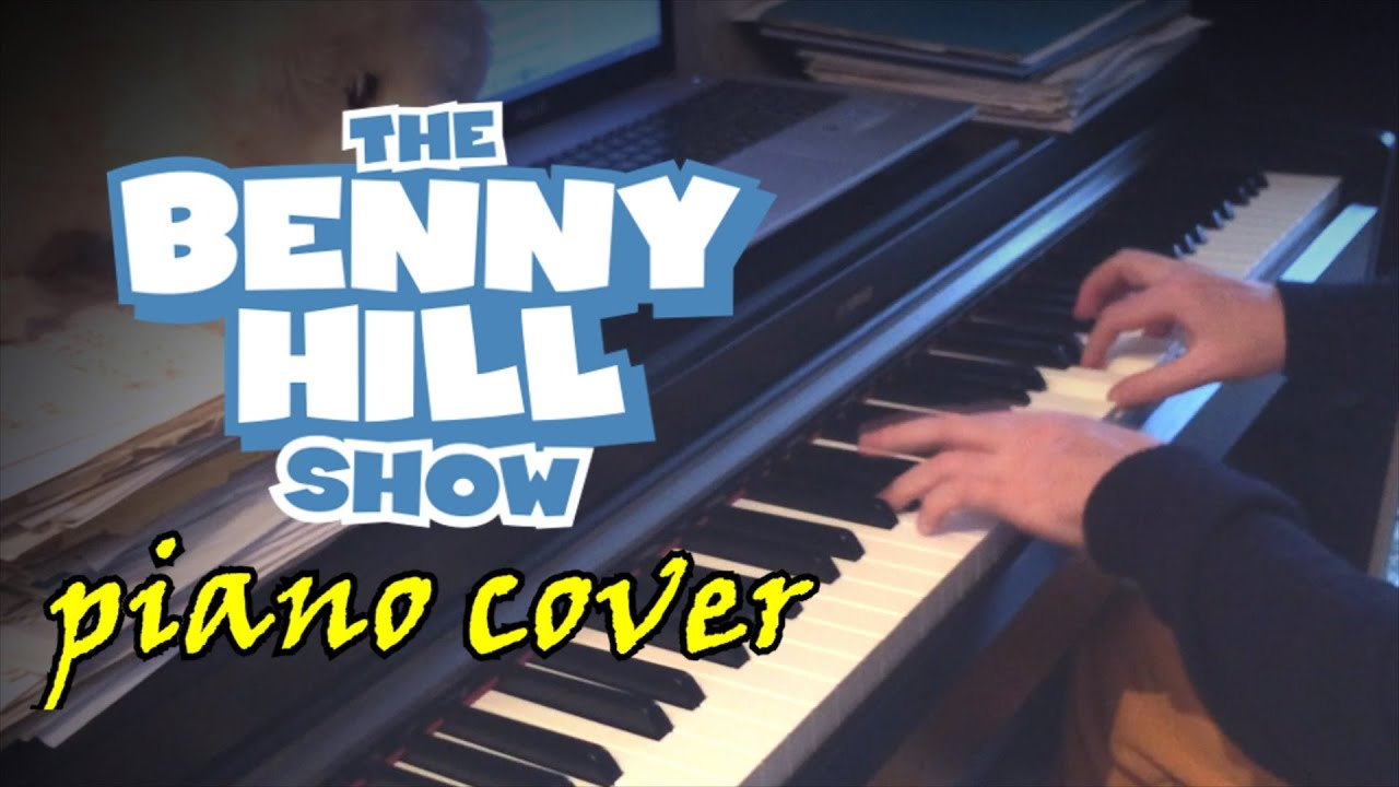 Benny Hill Theme Piano Cover
