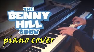 Benny Hill Theme [Piano Cover]