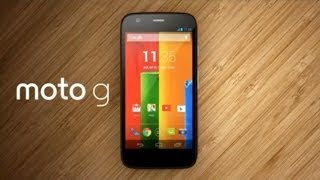 Moto G. Убийца бюджетных смартфонов Распаковка комплектация внешний вид.