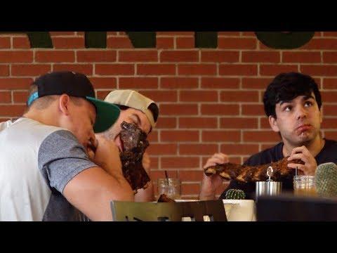 Eating Meat In A Vegan Restaurant Part 2!
