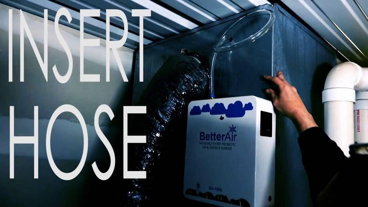 Better Air Probiotics BA 1000 Easy Installation