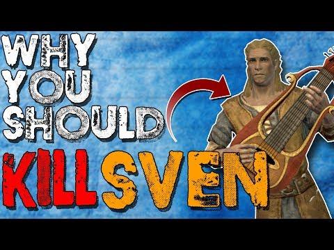 Why You Should Kill Sven   Hardest Decisions in Skyrim   Elder Scrolls Lore
