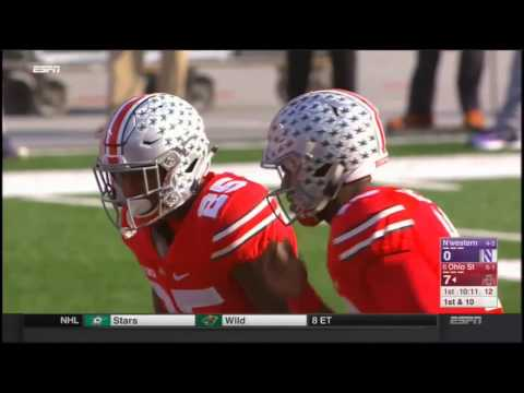 Ohio State Buckeyes vs Northwestern Wildcats in 30 Minutes - 10/29/16