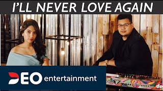 I'll Never Love Again - Lady Gaga at Deo Ent Studio 3 | Cover By Deo Entertainment mp3