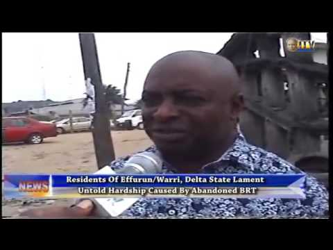 Warri residents lament untold hardship caused by abandoned ART