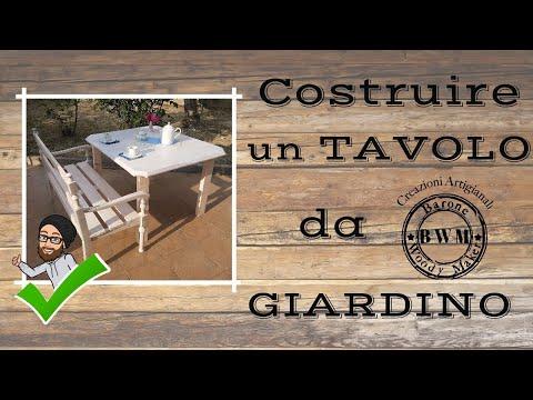 Come Costruire Un Tavolo Da Giardino.Vawl0o O Pwlwm