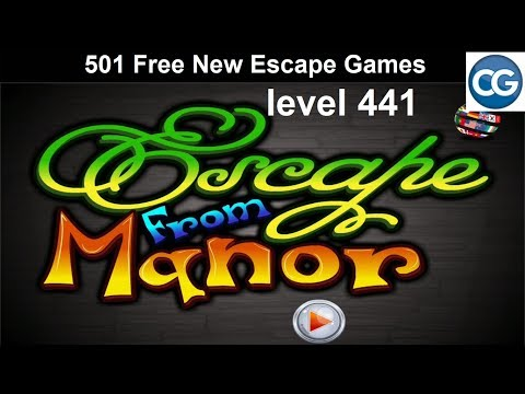 [Walkthrough] 501 Free New Escape Games Level 441 - Escape From Manor - Complete Game