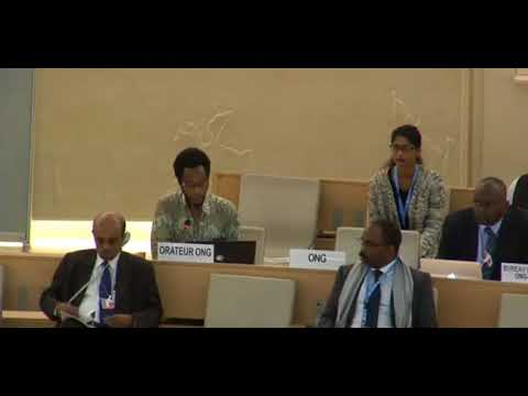 36th Regular Session Human Rights Council - ID: Central African Republic - Mr. Mutua K. Kobia