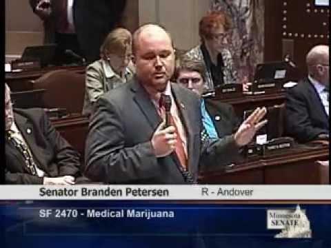 Medical Cannabis:Sen. Branden Petersen calls out Gov. Dayton