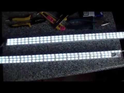Подсветка для аквариума из светодиодов с алиэкспресс из Китая своими руками