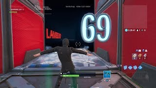 I FINIS THIS DEATHRUN OF 69 FORTNITE ON FORTNITE - CODE